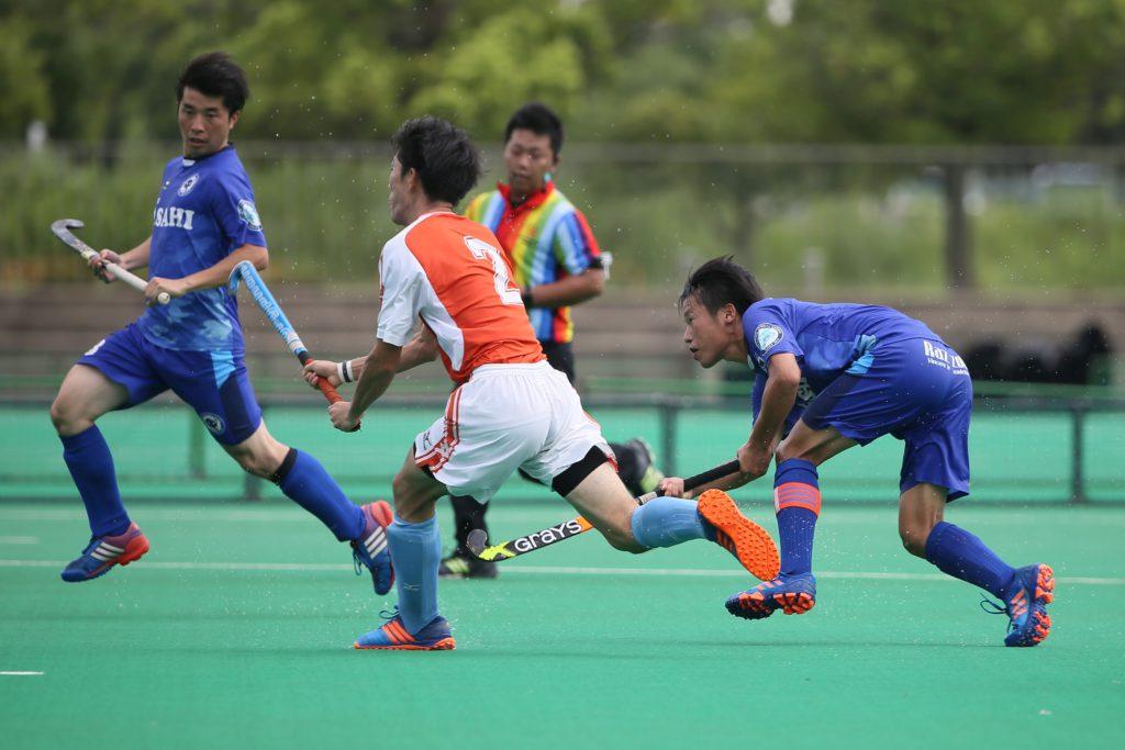 『岐阜朝日クラブ』は、スピードとテクニックもある日本代表選手の田中世蓮(8番)の、このダメ押しの4点目で完勝した。