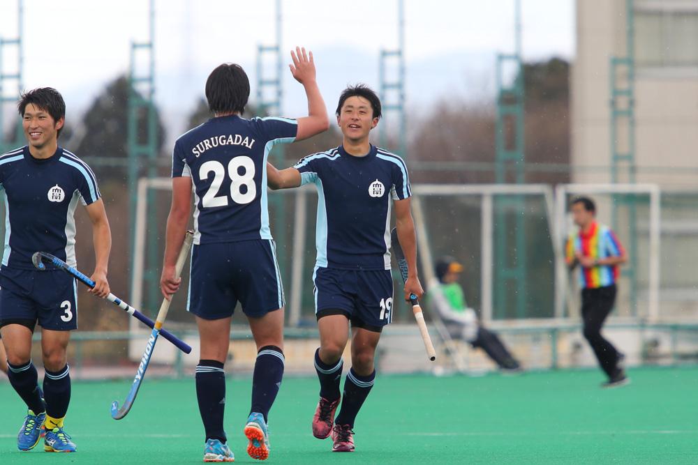 1点を返した駿河台大学#19花澤空
